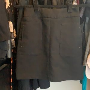 H&M Black Pocketed Mini Skirt size 2/XS